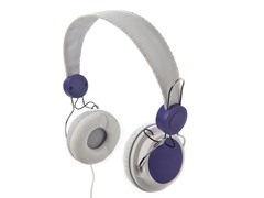 Lifestyle Headphones - White/Purple