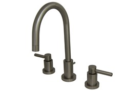 Concord Lavatory Faucet, Satin Nickel