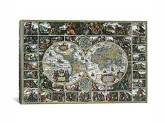 World Map II 26x18