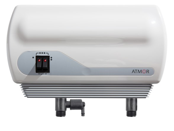 Atmor AT900-06 Point-of-Use Tankless Electric Instant Water Heater, 6.5 kW / 240V - $79 plus $5.00 S online deal