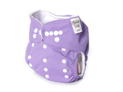 Adjustable Cloth Diaper - Lilac