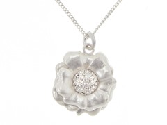 Relic RJ2042041 Silver Flower Necklace