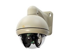 Speed Dome 650TVL Pan-Tilt Camera with Remote