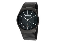 Men's Steel Sandblasted Black Watch