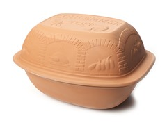 Reston Lloyd Glazed Clay Cooker