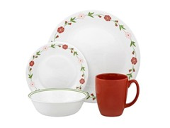 Corelle 16pc Set-Spring Pink