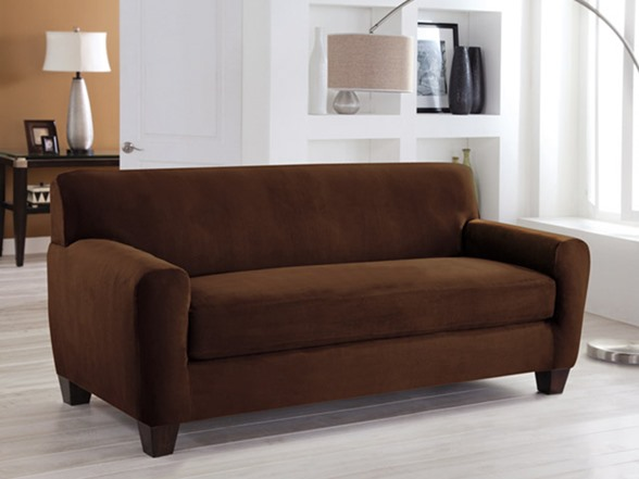 Sofa Box Stretch Fit Slipcover Multiple Colors