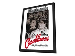Casablanca Framed Movie Poster