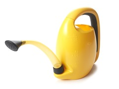 Oxo Pour & Store Watering Can, Yellow