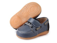 Squeaky Shoe - Parker, Grey/Black (3-8)