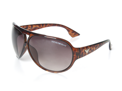 Aviator Sunglasses, Havana Brown
