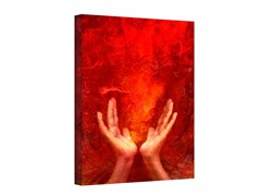 Chakra Fire - Wrapped Canvas (3 Sizes)