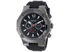 August Steiner Quartz Multifunction Silicone