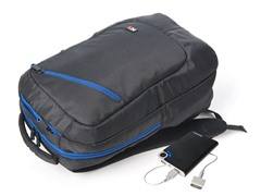 Power Backpack with Removable 8600 mAh Battery