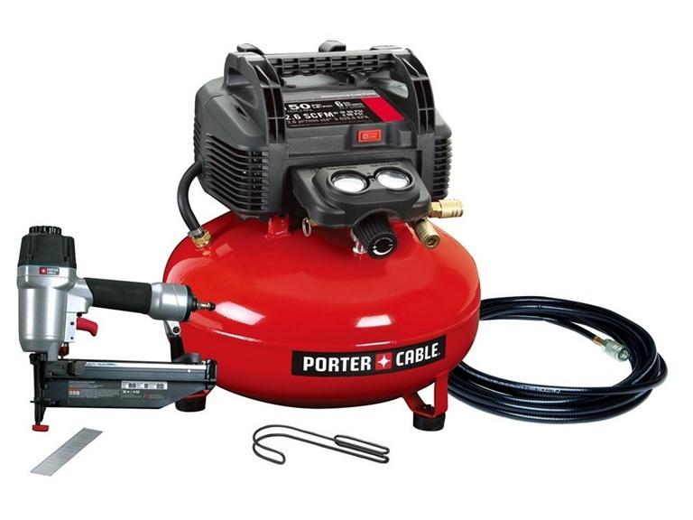 Porter-Cable Nailer/Compressor Combo Kit