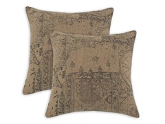 World Map Graham Pillow: Set of 2