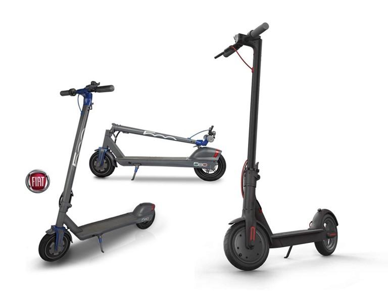 Xiaomi Mi & Fiat Electric Scooters