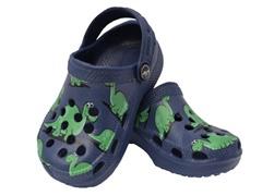Blue Dino Clog