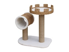 Recycled Paper Cat Fun Condo with Tube