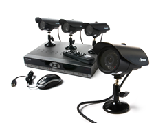4CH DVR Security System w/ 500GB HD