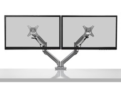 "Dual-Display Desktop Mount for 17-27"" Displays"
