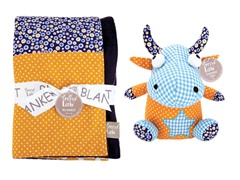 Dreamsicle Blanket & Buddy Set
