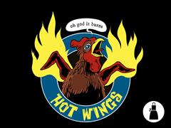 Hot Wings Apron