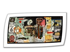 Notary by Jean-Michael Basquiat- Rolled Canvas