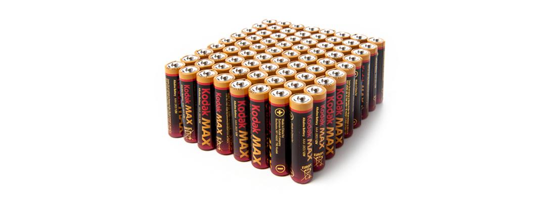 AAA MAX Alkaline Batteries 72pk