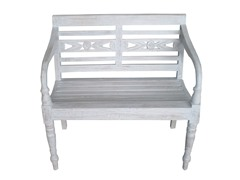 Moda Bench - Antique Grey