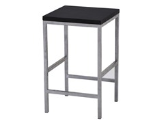 "Carolina Cottage Blk Garrison 24"" Stool"