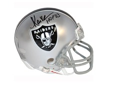 Marcus Allen Signed Raiders Mini-Helmet