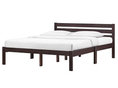Queen Platform Bed - Espresso