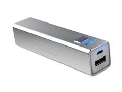 Rechargeable USB Charger - Silver