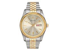 Men's Two-Tone Day-Date Bracelet Watch