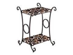 Animal Print Accent Table -  Giraffe