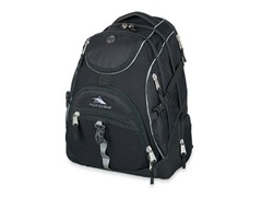 High Sierra Access Backpack- Prism Black