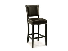 Napa Bicast Leather Bar Stool