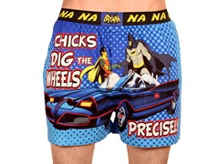 Batman 66 Chicks Dig The Wheels Boxer