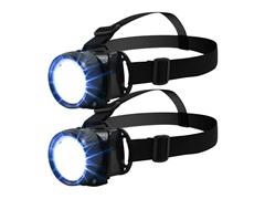 5-LED Headlamp with Adjustable Strap