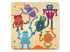 P'Kolino 6-Piece Robot Puzzle