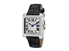 Women's Automatic Silver Dial / Black Leather