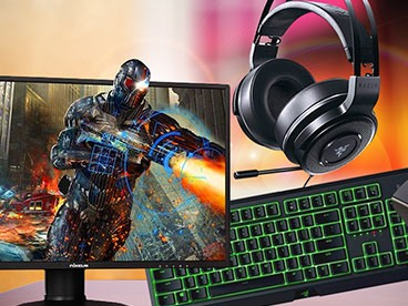 Gaming Monitors, Peripherals, & More