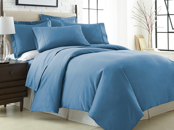 600tc Egyptian Cotton Duvet King Denim