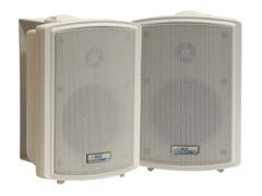 3.5'' Indoor/Outdoor Wall Mount Speaker (Pair)