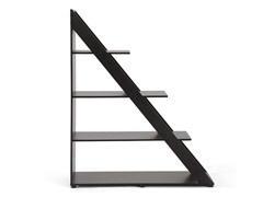 Psinta Dark Shelving Unit