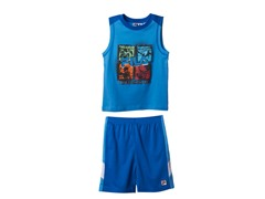 Tank & Short Set - Baseball (2T-4T)