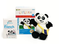 Volume 1 w/ Flashcards & Panda - French