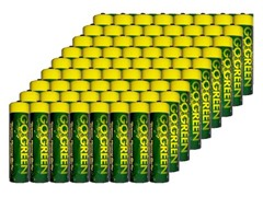 AAA Alkaline Batteries - 72 Pack