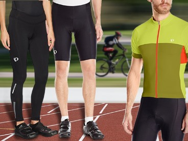 Pearl iZUMi Men's and Women's Cycling Apparel